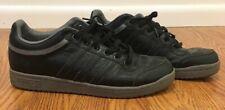 Adidas Forum Lo mens black 11.5 grey pebble grain leather ostrich great