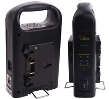 Rolux Dual Channel Anton Bauer Gold Mount Battery Charger Camera Power Supply