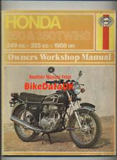 Honda CB250 CB350 K4 (68-74) Haynes Shop Manual Book CB 250 350 K-Series CP13