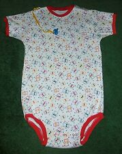 """Adult baby BODYSUIT PRIMARY COLOR TEDDY BEARS 45"""" CHEST"""