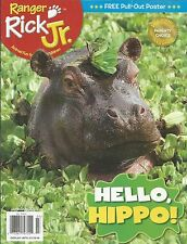 Ranger Rick Jr. magazine Hippo Rainforest animals Games and jokes Robin Arcari