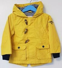 Boys Age 12-18 Months - Junior J - Mustard Yellow Rain Coat.
