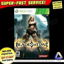 Blades of Time (Microsoft Xbox 360, 2012) NEW + SEALED PAL game (for AUSTRALIA)