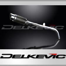 "Honda CBR600RR 8"" Mini Carbon Fiber Round Muffler Exhaust Slip On 05 06"