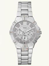 GUESS U12657L1 Dazzling Sport Watch - Silver