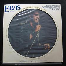 Elvis Presley - A Legendary Performer Vol 3 LP Mint- CPL1-3078 Picture Disc