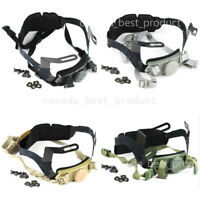 Tactical Airsoft Helmet Head Lock Buckle System Chin Strap Fit PJ BJ MH MICH
