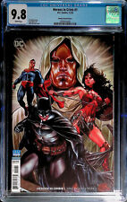 Heroes In Crisis # 1 Mark Brooks 1:100 Variant DC CGC 9.8 #2000514006