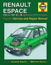 3197 Haynes Renault Espace Petrol & Diesel (1985 - 1996) C to N Workshop Manual