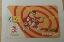 Malaysia Orang Utan Shooting Commonwealth Games Phone Card Sukom 98 Logo 电话卡