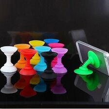 Silicone Double-end Suction Cup Holder Sucker Stand For Smart Phone / Ipod - S