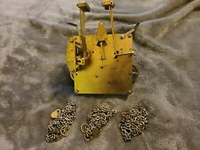 Vintage Ridgeway 451-053H 94cm Grandfather Clock Movement and Chains Working