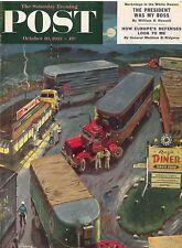 The Saturday Evening Post October 10 1953 Ben Prins Vintage Americana