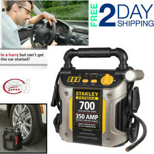 Car Emergency Battery Jump Booster Pack Portable Compressor Power Starter Bank