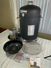New ListingBrinkmann Smoke 'N Grill Charcoal Smoker and Grill Steamer Roaster W Accessories