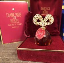 DIAMONDS AND RUBIES ELIZABETH TAYLOR 0.25 FL oz/ 7.5 ML Pure Perfume / Parfum
