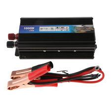 1000W 12V DC to 220V AC Solar Power Inverter Usb Port Car Charger Converter