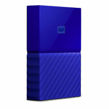 Blue 1TB Western Digital My Passport Portable Hard Drive USB 3.0 WD