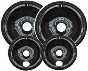 Set of 3/&1 CB9 Range Stove Drip Pans Bowl