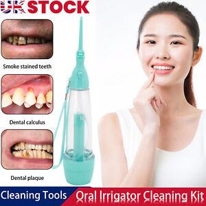 Water Jet Dental Teeth Cleaning Flosser Oral Irrigator Tooth Cleaner Floss Pick