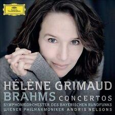 Helene Grimaud: Brahms Piano Concertos Nos. 1 & 2) [2 New CDs] - Nelsons