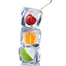 Magnete Da Frigorifero decocrazione Ghiaccio e fruits 60x90cm ref 6242 6242