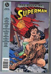 THE DEATH OF SUPERMAN 5.5 6.0 TPB  FIRST PRINT KK