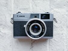 Canon Canonet 28 35mm Rangefinder Film Camera 40mm 2.8 Lens FOR PARTS OR REPAIR