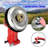 26MM Gearbox Gear Head 7 Spline Drive Lawn Mower Trimmer Replace Brush Cutter