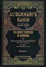 Al'Bukhari's Sahih 4 Volumes English Hadith Translation صحيح البخاري انجليزي