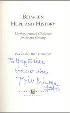 "WILLIAM J. ""BILL"" CLINTON - INSCRIBED BOOK SIGNED 10/28/2000"