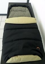 Teutonia Fußsack/ Sitzauflage in Topqualität, Neu! OVP schwarz beige