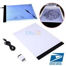 erholi Ultra-Thin Portable LED Copy Station Painting Board Art Tools Sk Graphics Tablets