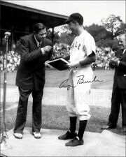 Babe Ruth George H W Bush 1948 Autographed Repro Photo 8X10 Yankees US President