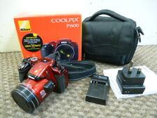 Nikon Coolpix P600 - 16mp digital camera - RED - 60x optical zoom - FREE POST