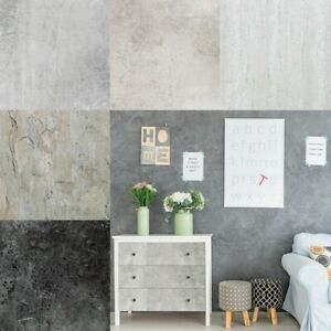 Klebefolie Möbel Tür Küche 15€m² Folie Selbstklebende Schiefer Beton Stein Optik