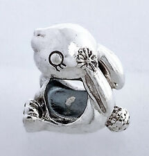 New 100% Authentic PANDORA 925 Silver Nini the Rabbit Charm Pendant 798763C00