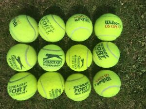 Tennis Balls, used but good condition, for play, kids, dogs. Batch/12
