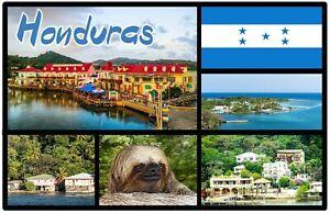 Honduras, Centrale America - Souvenir Novità Calamita Frigo - Viste / Regali