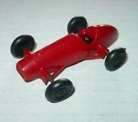 Vintage Spielzeug Auto Groschenauto Plastik Modellauto Rennwagen Ferrari 1:77