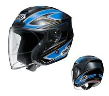 SHOEI J FORCE 4 J-FORCE BRILLER TC-2 BLUE/BLACK XL HELMET JAPAN MADE