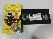 PIPPI CALZASLARGAS LANGSTRUMP 2 CAPITULOS SERIE TV - VHS CINTA TAPE CASTELLANO &