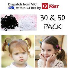 20x//50x Mini Size Soft Hair Ties Small Elastic Spandex Hair Bands