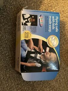 CARES Kids Fly Safe Airplane Safety Harness Seat belt with Carry Bag