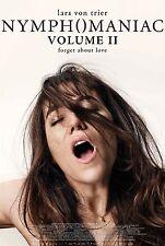 Nymphomaniac Volume 2 (2014) Movie Poster (24x36) - Charlotte Gainsbourg NEW