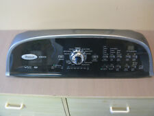 Whirlpool Cabrio Clothes Washer W10269599 console and user interface