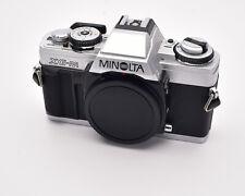 Minolta XG-M Silver 35mm SLR Film Camera Body with Body Cap (#4099)