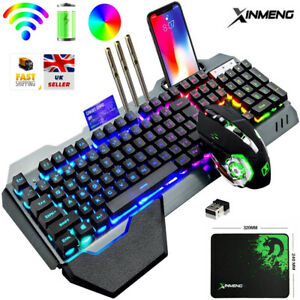 RGB K680 Wireless Gaming Mechanical Keyboard and Mouse Set for PC Xbox and PS4