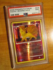 PSA-9 REVERSE Pokemon Shiny VULPIX Card PLATINUM (Base) Set SH6 Ultra Rare Holo