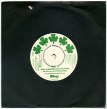 """WINGS Give Ireland Back To The Irish/same (Version) 7"""" 1970s repress EX+"""